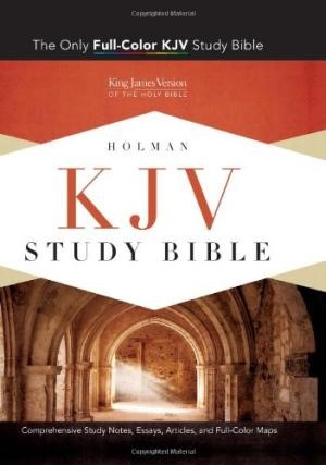 KJV Study Bible, Saddle Brown Leathertouch, Indexed (Imitation Leather)