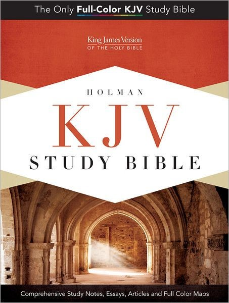 KJV Study Bible, Blue/Taupe Leathertouch Indexed (Imitation Leather)