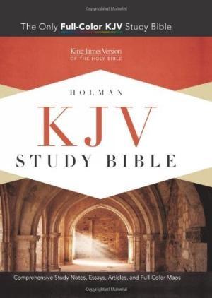 KJV Study Bible, Mantova Black Leathertouch (Imitation Leather)
