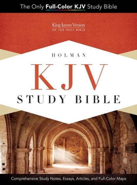 KJV Study Bible, Black Genuine Cowhide (Leather Binding)