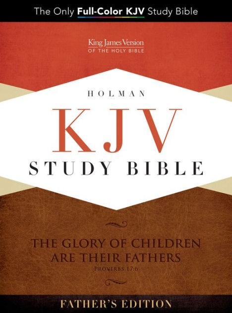 KJV Study Bible, Father's Edition Black/Tan Leathertouch (Imitation Leather)