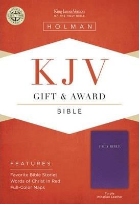 KJV Gift & Award Bible, Purple (Imitation Leather)