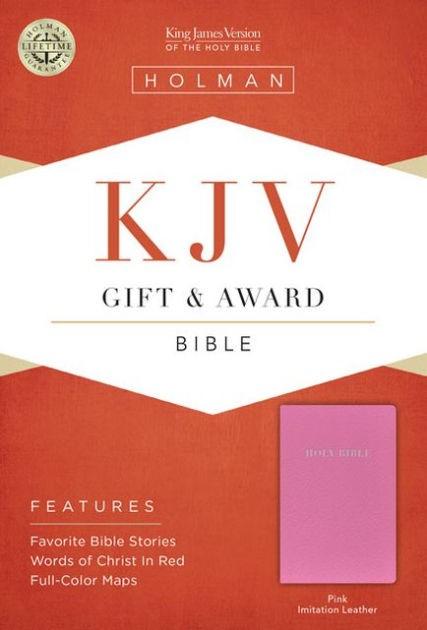 KJV Gift & Award Bible, Pink Imitation Leather (Imitation Leather)