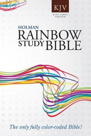Kjv Rainbow Study Bible, Trade Paper (Paperback)