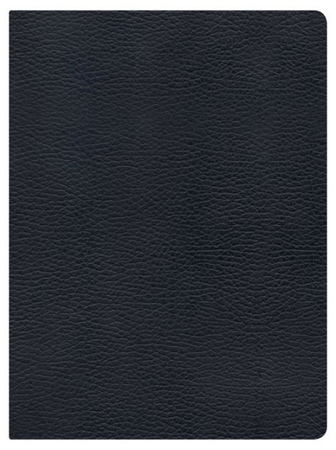 NKJV Holman Full Colour Study Bible Black Genuine Leather (Leather Binding)