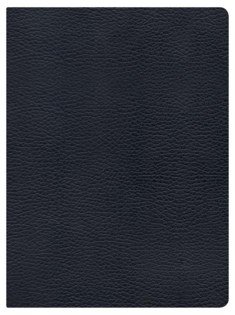 NKJV Holman Full-Color Study Bible Black Genuine Leather (Leather Binding)