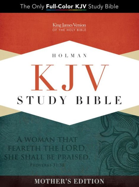 KJV Study Bible, Turquoise Mother's Edition Leathertouch (Imitation Leather)