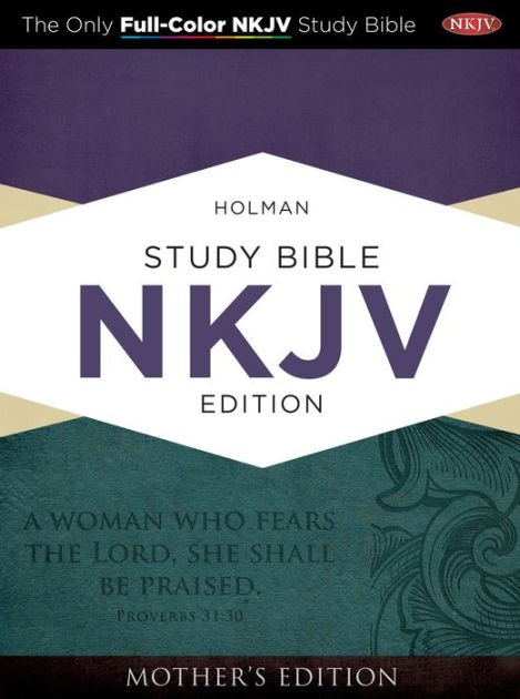 NKJV Holman Full-Color Study Bible Turquoise (Imitation Leather)