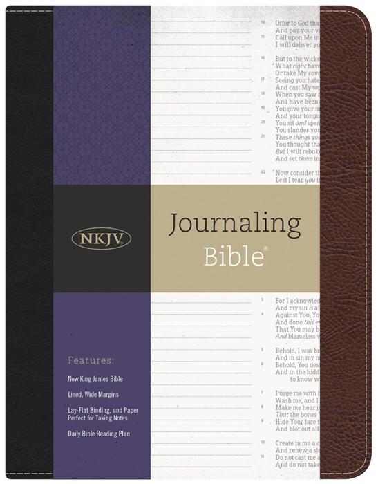 NKJV Journaling Bible® (Bonded Leather)
