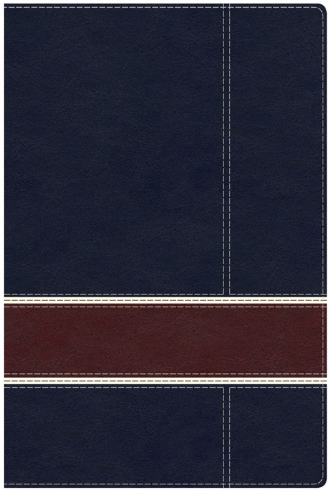 Military Families Bible Navy/Crimson Leathertouch (Imitation Leather)