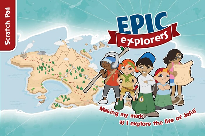 Epic Explorers Scratch Pad (Paperback)