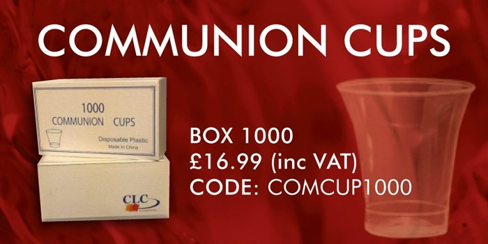 CLC Communion Cups - Pack of 1000