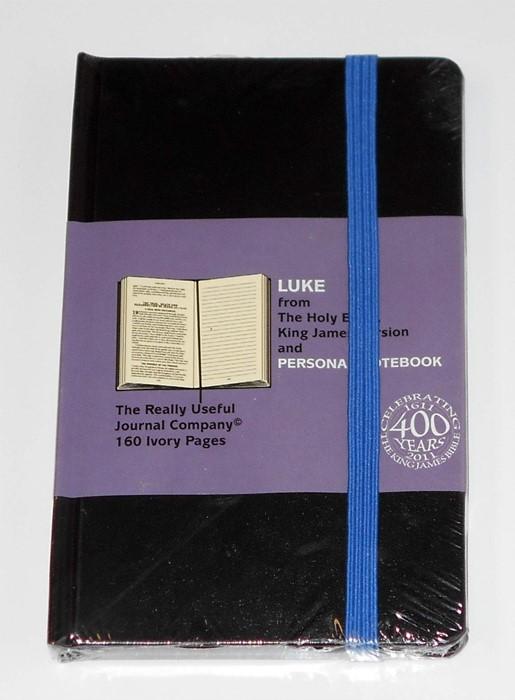 Kjv Gospel Luke Journal Moleskin (Paperback)