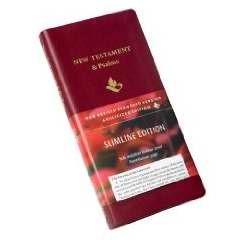 NRSV New Testament And Psalms, Burgundy (Imitation Leather)
