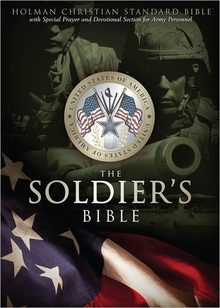 HCSB Soldier's Bible, Green Simulated Leather (Imitation Leather)