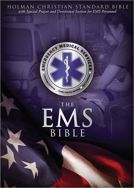 HCSB Emergency Medical Services Bible, Blue Leathertouch (Imitation Leather)
