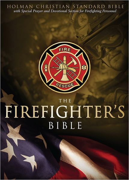 HCSB Firefighter's Bible, Red Leathertouch (Imitation Leather)