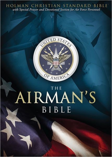 HCSB Airman's Bible, Blue Leathertouch (Imitation Leather)