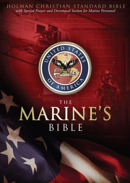 HCSB Marine's Bible, Burgundy Simulated Leather (Imitation Leather)