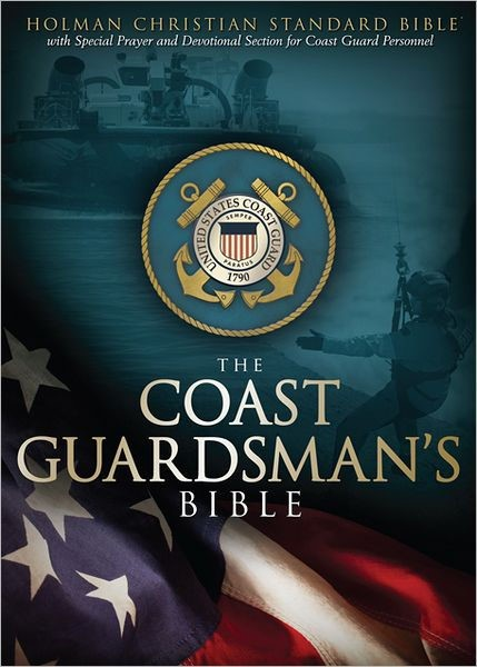 HCSB Coastguardsman's Bible, Blue Leathertouch (Imitation Leather)