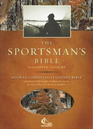 HCSB Sportsman's Bible, Camoflauge Bonded Leather (Bonded Leather)
