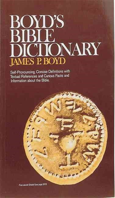Boyd's Bible Dictionary (Paperback)