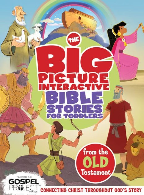 Big Picture Interactive Bible Stories For Toddlers Old T, Th (Board Book)