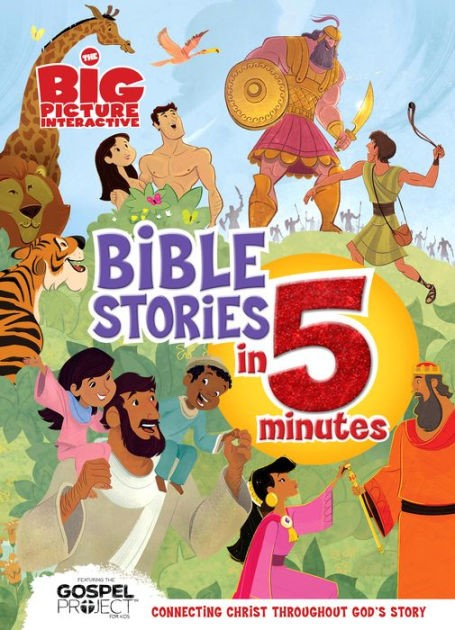 Big Picture Interactive Bible Stories In 5 Minutes, Padd, Th (Hard Cover)