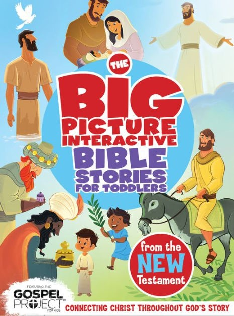 Big Picture Interactive Bible Stories For Toddlers New T, Th (Board Book)