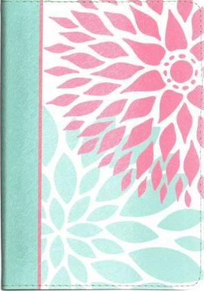 NKJV Compact Ultrathin Bible For Teens, Green Blossoms (Imitation Leather)