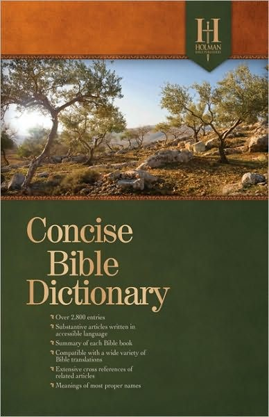 Holman Concise Bible Dictionary (Hard Cover)