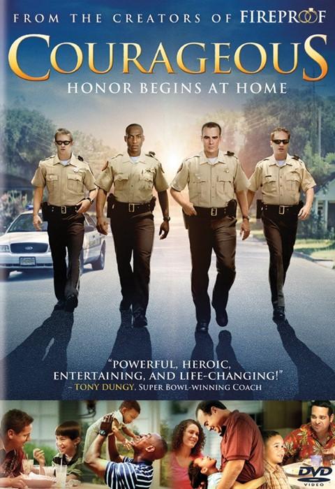 Courageous DVD (DVD Video)