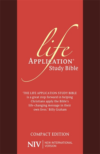NIV Compact Life Application Study Bible (Anglicised) (Flexiback)