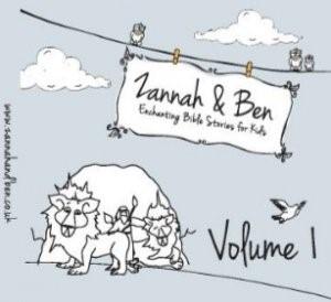 Enchanting Bible Stories for Kids Vol 1 Zannah & Ben Kids CD (CD-Audio)