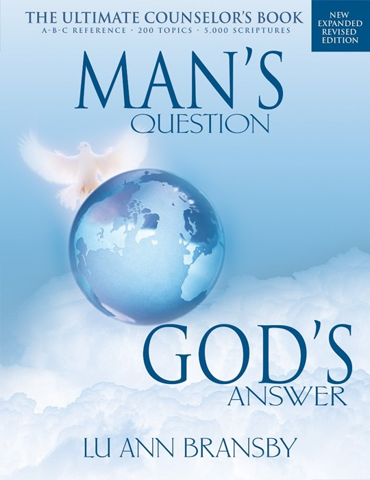 Mans Question Gods Answer (Updated) (Paperback)