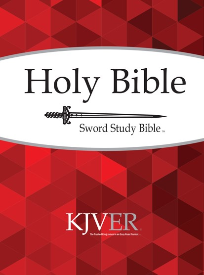 KJVER Sword Study Bible/Personal Size Large Print-Softcover (Paperback)