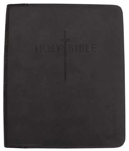 Kjver Thinline Bible/Personal Size-Black Ultrasoft (Imitation Leather)