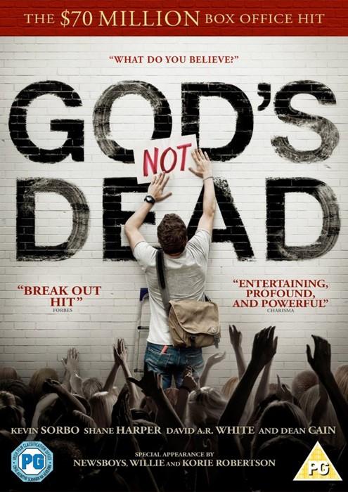 God's Not Dead DVD (DVD)
