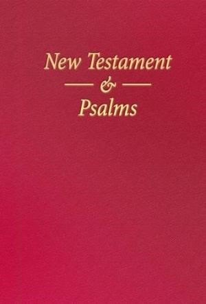 KJV Nonpareil New Testment & Psalms Vinyl Red (Vinyl)