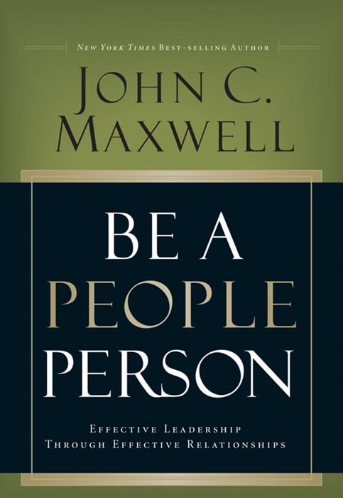 Be A People Person (Hard Cover)