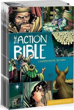 The Action Bible Christmas Story 25-Pack (Multiple Copy Pack)