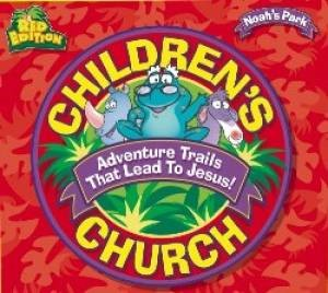 Children'S Church Red Edition Kit (Game)
