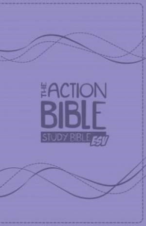 The ESV Action Bible Study Bible (Leather Binding)