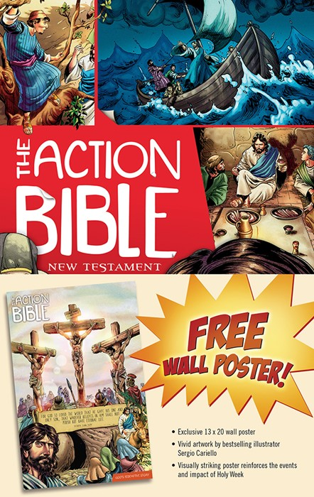 The Action Bible New Testament Bonus Poster Pack (Game)