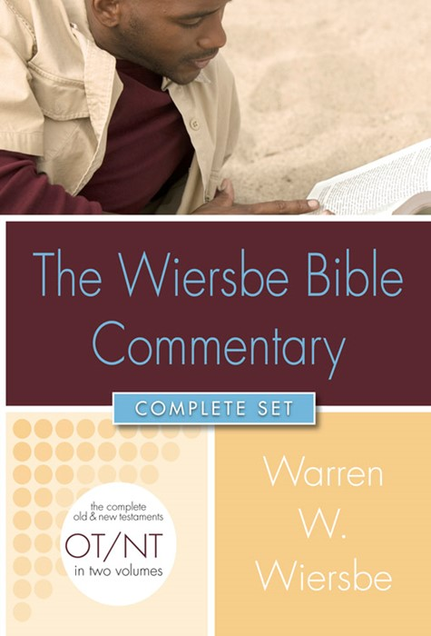 Wiersbe Bible Commentary 2 Vol Set (Hard Cover w/CD)