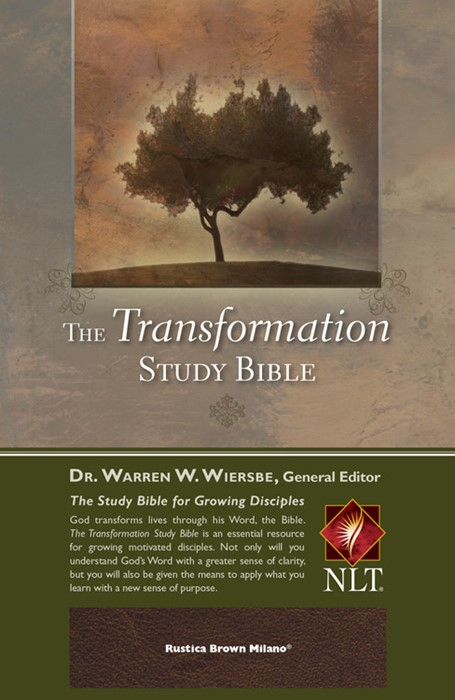 The Transformation Study Bible--Rustica Brown Milano (Leather Binding)