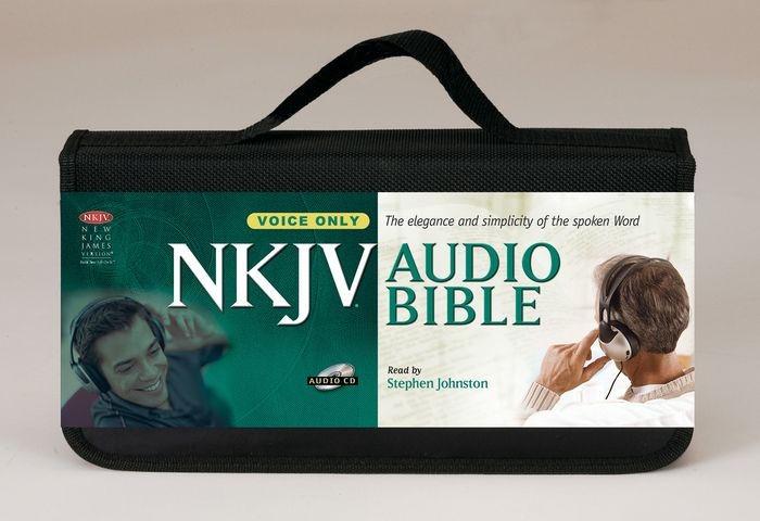 NKJV Bible on CD Spoken (CD-Audio)