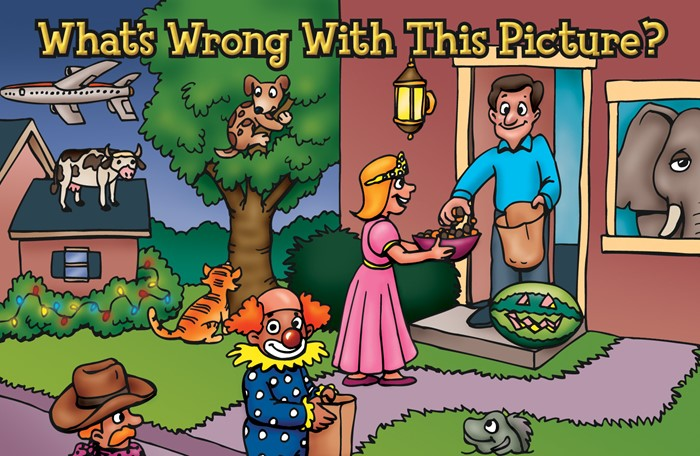What'S Wrong With This Picture? (Pack Of 25) (Tracts)