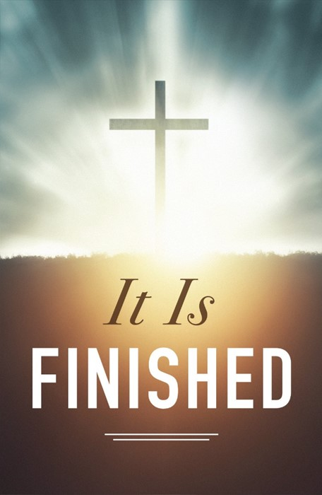 It Is Finished! (Pack Of 25) (Tracts)