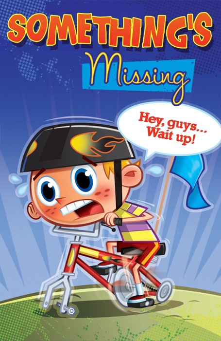 Something'S Missing (Pack Of 25) (Tracts)